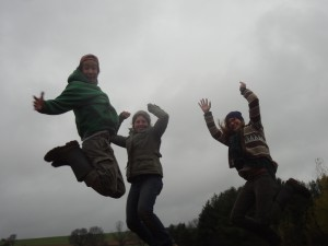 2014 Interns- Charles, Maddie, Diana